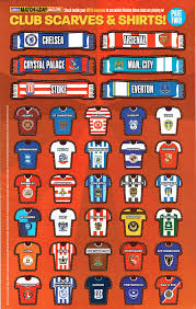 Premier League Wall Chart Football Cartophilic Info Exchange Match Of The Day