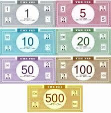Money Bill Template Editable Play Money Template Unique Fake Money Template Printable