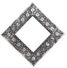Ornate Silver Frame PNG Image PNG Transparent best stock photos