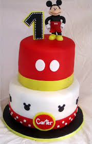 Cakesor Something Like That Mickey Mouse 1st Birthday Cake