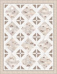 FREE PATTERNS (with Bonus Ideas) with Quilting Treasures' Woodland ... & Runner turn quilt3_brown Adamdwight.com