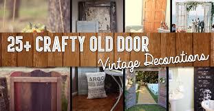 25 crafty old door vintage decorations
