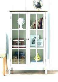 media storage cabinet locking tall shelves with glass doors cd dvd drawers