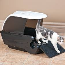 Automatic litter box One box per cat? A good automatic box can be used for