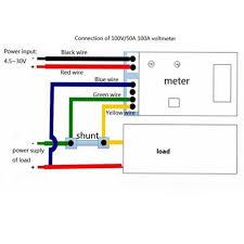 online shop car led electrical ammeter voltmeter ampere digital you can buy dc voltmeter ammeter 0 10a here