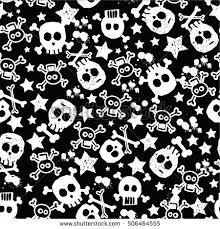 Skull Pattern Extraordinary Skull Pattern Stock Vector Royalty Free 48 Shutterstock
