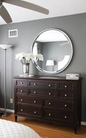 what color to paint furniture. Gray Walls Dark Brown Furniture Bedroom Paint Color Amherst What To O