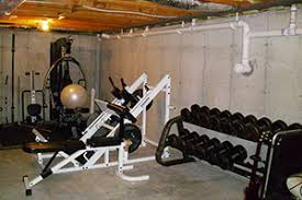 basement gym ideas. BEFORE: This Home Gym Was Not Exactly A Great Place To Begin The Day. Basement Ideas T