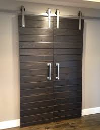 sliding barn doors. Double Barn Door Hardware Sliding Doors O