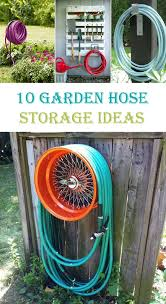 garden hose storage pot. Garden Hose Storage Pot With