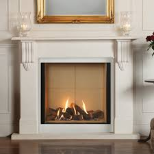 Gazco Riva2 800 Victorian Corbel - Glass Fronted Balanced Flue Gas Fireplace    Fireplace Products