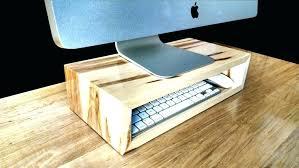 coffee table monitor coffee table organizer coffee table organizer computer maple monitor stand desk organizer computer
