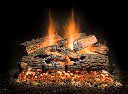 split bonfire charred