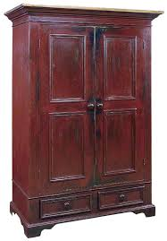 Barn Red Milk Paint Distressed Furniture Finish
