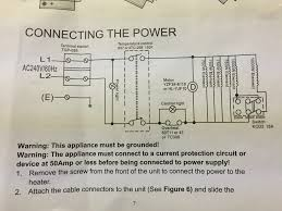 need help wiring thermostat to my profusion electric heater the here are the wiring diagrams