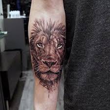 85 Lion Tetování Pro Muže Džungli Velkých Koček Vzory