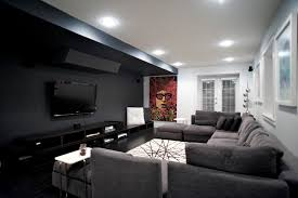 home theater floor lighting. home cinema theater contemporary with ceiling lighting black floors wallmounted tv floor g