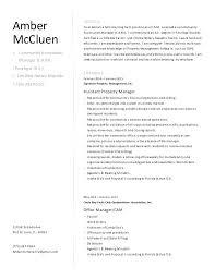 Community Manager Resume Sample Property Manager Resume Community ...