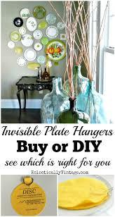 best plate hangers for walls diy