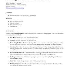 Free Resume Builder To Save And Print