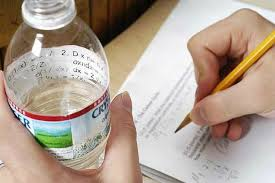 cheating your way through exams best tricks essay tigers the water bottle trick