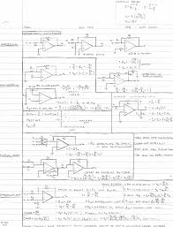 rf cafe circuits cheat sheets opamps by michael nash