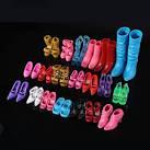 Туфли для куклы барби купить с aliexpress