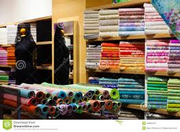 Fabric Store Interior Design Interior Of Fabric Shop Stock Image Image Of Indoors 44805343