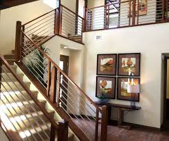 cable railing vs glass interior systems stairs and for railings decor 8 interior cable railings l42 interior