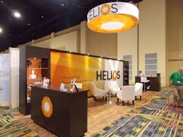 Trade Show Booth Design Ideas trade show booth design with special effects helios4