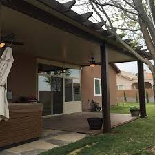 brown aluminum patio covers. Our High Quality Structural Aluminum Patio Covers Contain An Advanced Expanded Polystyrene Technology To Insulate Your Roof And Protect You From The Brown M