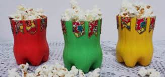 Resultado de imagem para festa junina com reciclaveis