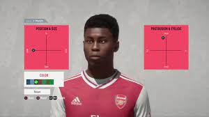 BUKAYO SAKA / FIFA 20 PRO CLUBS LOOK ALIKE - YouTube