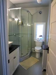 Compact Shower Stall Bathroom Small Bathroom Ideas With Shower Stall Modern Double