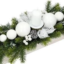 Znalezione obrazy dla zapytania stroiki świąteczne na stół