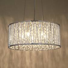 crystal drum chandelier new azha 5 light ceiling fixture oil rubbed with regard to 14