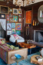 Living Room Rustic Eclectic Room So Colorful And Cute With Frame