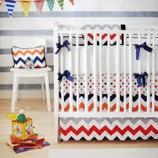 chevron nursery bedding