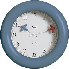 alessi michael graves kitchen wall clock  gr shop canada