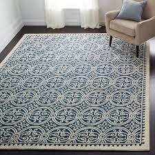 safavieh handmade moroccan cambridge navy blue wool