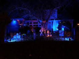 outdoor halloween lighting. love the lighting outdoor halloween