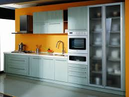 Metal Kitchen Furniture Painting Metal Cabinets Janefargo