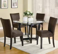 small room furniture solutions small space dining. Dining Room:Small Room Space With Chenille Dinig Chairs Also Glass Top Round Table Small Furniture Solutions I
