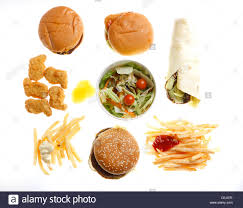 fast food nutrition diffe fast food s burger wraps french fries salad en nuggets mcdonalds s