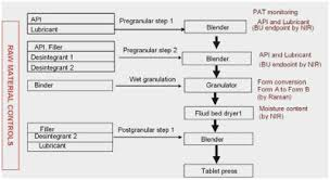 Granulation Process Flow Chart 48 Most Popular Pharmaceutical Manufacturing Process Flow