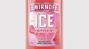 smirnoff ice raspberry flavored malt beverage flavored malt beverages smirnoff