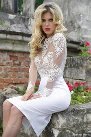 aliexpress com buy short wedding dresses 2017 white satin o neck