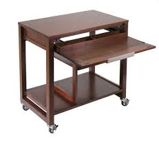 office table with wheels. furniture:computer workstation desk portable desks small spaces laptop cart on wheels office table with