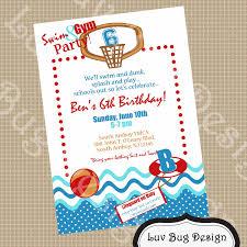 kid birthday pool party invitation wording custom invitations beautiful birthday pool party invitation wording accordingly
