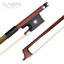 <b>NAOMI</b> Classic Brazilwood 4/4 Лук для скрипки с легким весом ...